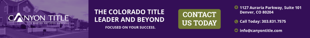 Canyon Title - The Colorado Title Company and Beyond